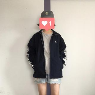 アディダス(adidas)のadidas ロゴ刺繍ナイロンジャケット(ナイロンジャケット)
