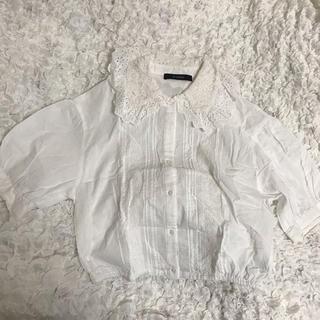 w closet - 丸襟半袖ブラウス