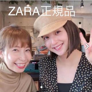ZARA - ZARA正規品小花柄ロングワンピース