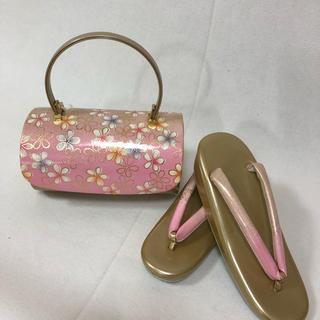 振袖用 草履バッグセット☆フリーサイズ 202(その他)