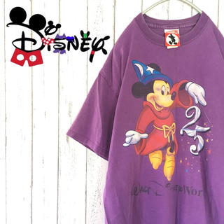 ディズニー(Disney)の【激レア】Disney USA  25th 限定Tシャツ ヴィンテージ 426(Tシャツ/カットソー(半袖/袖なし))