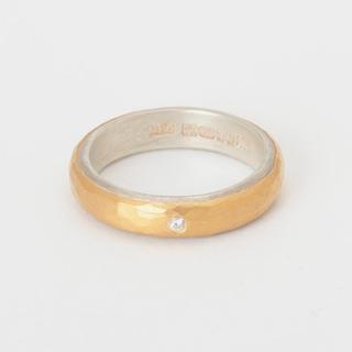 バーニーズニューヨーク(BARNEYS NEW YORK)のマルコムベッツ 22k リング ダイヤモンド付き バーニーズニューヨーク(リング(指輪))