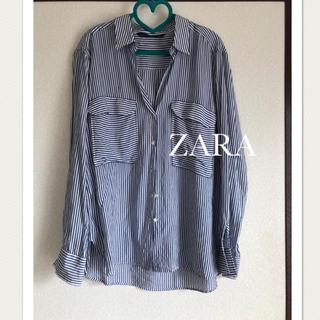 ZARA - ZARA ストライプシャツ♡
