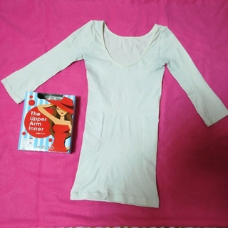 マルコ(MARUKO)のMARUKO マルコ 七分袖 二の腕 インナー M 白(アンダーシャツ/防寒インナー)
