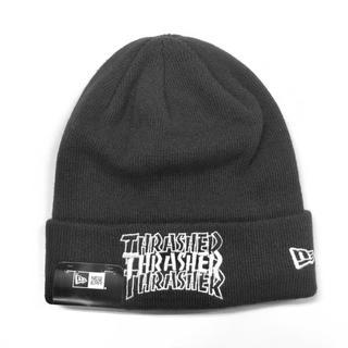 スラッシャー(THRASHER)のNEWERA × THRASHER  白、黒、各一点ずつ(ニット帽/ビーニー)