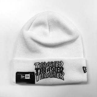 スラッシャー(THRASHER)の【SALE】 NEWERA × THRASHER [刺繍ロゴニット](ニット帽/ビーニー)