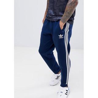 アディダス(adidas)の【Sサイズ】新品タグ付 adidas  3ストライプ ジョガーパンツ ネイビー(その他)