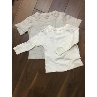 エヴァムエヴァ(evam eva)のevam eva オーガニックコットン 半袖 長袖 セット(Tシャツ/カットソー)