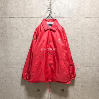 [used]'KANGOL' red nylon jacket.(ナイロンジャケット)
