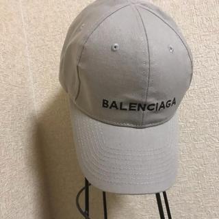 Balenciaga - BALENCIAGA グレーキャプ