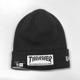 スラッシャー(THRASHER)の【SALE】 NEWERA × THRASHER [BOXロゴニット](ニット帽/ビーニー)