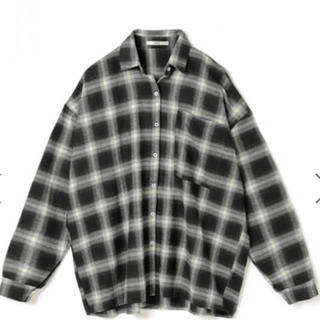 GRL - BIGシルエットチェックシャツ
