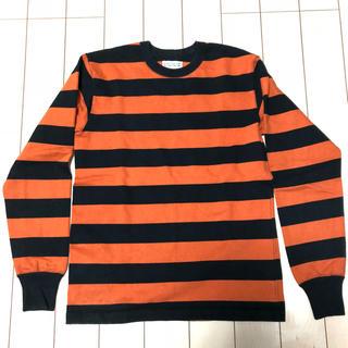 ウエストライド(WESTRIDE)のウエストライド WEST RIDE ボーダーロングTシャツ サイズ40(Tシャツ/カットソー(七分/長袖))