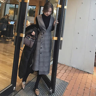 Lily Brown - タートル+スカートセット❤️秋冬❤️新作!