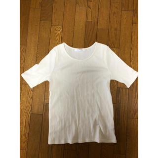 ジエンポリアム(THE EMPORIUM)の白 カットソー(Tシャツ(半袖/袖なし))