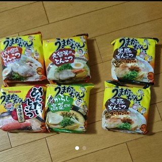 ハウスショクヒン(ハウス食品)のうまかっちゃん 6袋(インスタント食品)