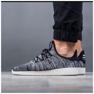 アディダス(adidas)の新品未使用 アディダス ファレルウィリアムス テニス 29.5cm オレオ(スニーカー)