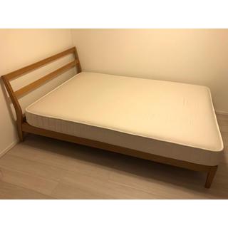 MUJI (無印良品) - 無印良品 * ベッド タモ材