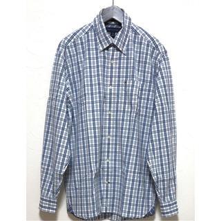 トミーヒルフィガー(TOMMY HILFIGER)のトミーヒルフィガー チェックシャツ XS ブルー系(シャツ)