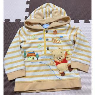 ディズニー(Disney)のDisney baby プーさんパーカー size90(ジャケット/上着)