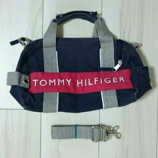 トミーヒルフィガー(TOMMY HILFIGER)の人気のトミーのミニボストン(ショルダー)バッグ!(ショルダーバッグ)