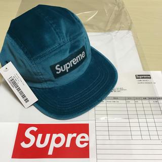 Supreme - Supreme Velvet Camp Cap