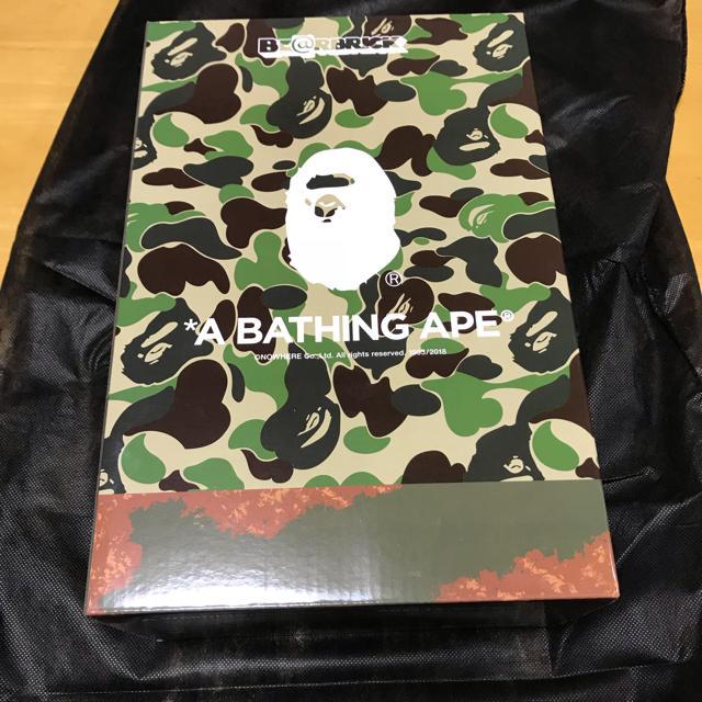 A BATHING APE(アベイシングエイプ)のBE@BRICK READYMADE A BATHING APE BAPE エンタメ/ホビーのフィギュア(その他)の商品写真