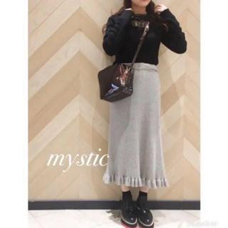 mystic - 大人気♡ mystic フリルニットスカート