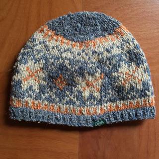 ゴーヘンプ(GO HEMP)のgo hemp ニット帽 未使用! ウール+ヘンプ(ニット帽/ビーニー)