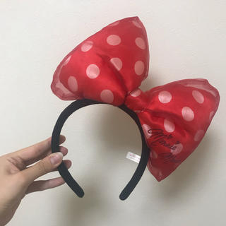 ディズニー(Disney)の❤️ミニーカチューシャ❤️(カチューシャ)