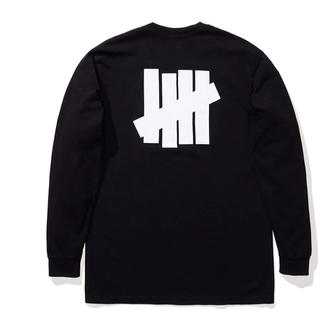 UNDEFEATED - UNDEFEATED ICON L/S TEE 黒 M