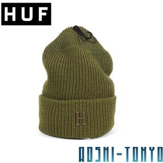 ハフ(HUF)の◆SALE◆HUF メタルHロゴ ビーニー / コンバットカラー ニットキャップ(ニット帽/ビーニー)