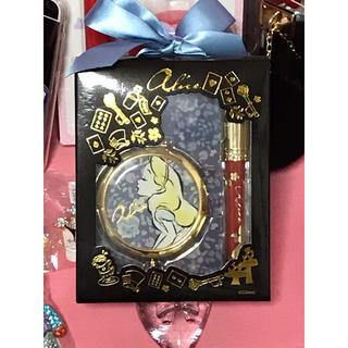 ディズニー(Disney)のアリス コンパクトミラー & リップグロスギフト(リップグロス)