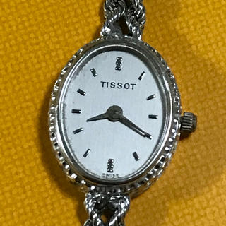 ティソ(TISSOT)の【最終値下げ】TISSOT ティソ K18 750 16.9g レディース腕時計(腕時計)