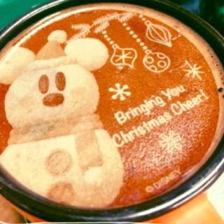 ディズニー(Disney)のTDR ★ ディズニー  ココア & ラテシート セット(コーヒー)