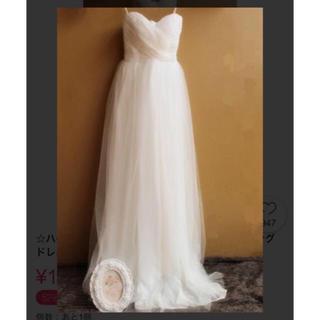 未使用♡ ウェディングドレス 二次会ドレス