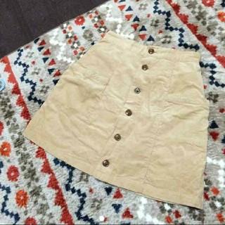 ウィゴー(WEGO)のWEGO 前ボタン台形ミニスカート(ミニスカート)