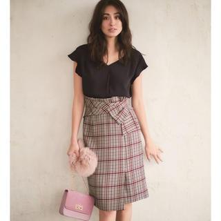 JUSGLITTY - ジャスグリッティー  デザインチェックタイトスカート