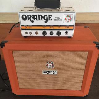 orange tiny terrorとppc112(ギターアンプ)