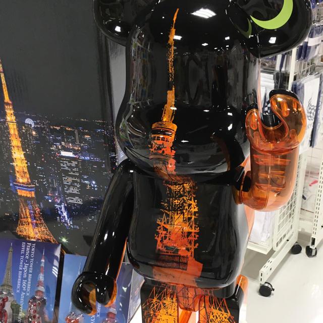 MEDICOM TOY(メディコムトイ)のベアブリック  東京タワー 1000% エンタメ/ホビーのフィギュア(その他)の商品写真