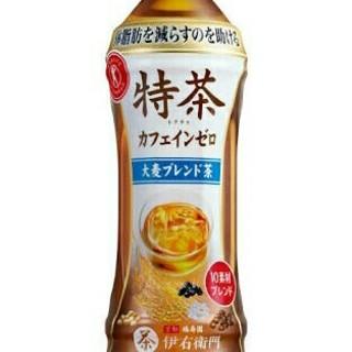 送料無料 48本 500ml 特茶 大麦ブレンド 綾鷹特選茶黒烏龍茶より良(茶)