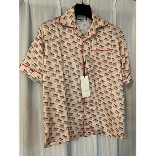 Gucci - GUCCI 2018 限定数 silk shirt