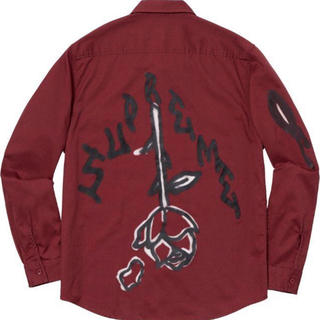 Supreme - Rose L/S Work Shirt