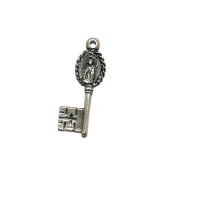グアダルーペの聖母 鍵 メキシコ メダイ ネックレス チェーン