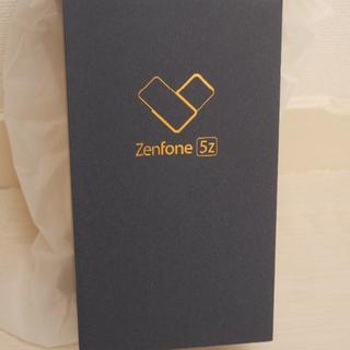 ASUS - 【新品未開封】ASUS Zenfone 5Z スペースシルバー SIMフリー