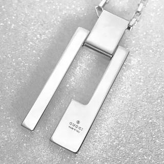Gucci - 仕上げ済み  GUCCI  Gカットプレート  ネックレス