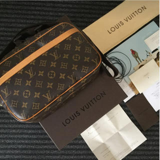 LOUIS VUITTON - 【美品・正規品】ルイヴィトン M45254  REPORTER  PM