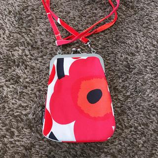 マリメッコ(marimekko)の美品♡ マリメッコ ウニッコ ポシェット ショルダーバッグ(ショルダーバッグ)