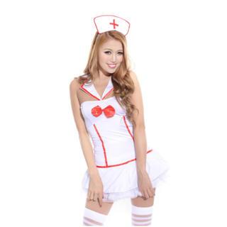 【ハロウィン コスチューム ナース】セクシーな看護婦のコスチューム!(その他)