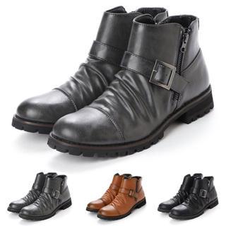 ベルト付きブーツ(ブーツ)